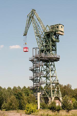 Eberswalde - Crane in Eberswalde