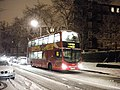 168 bus in the snow, Haverstock Hill NW3 - geograph.org.uk - 1631028.jpg