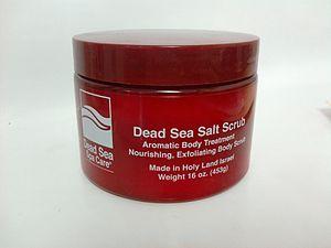 16 oz Salt in Red Jar