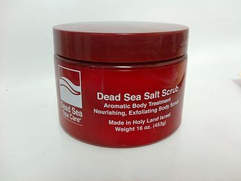 16 oz Salt in Red Jar