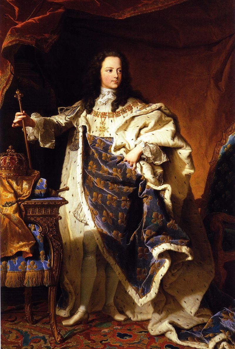1721 - Людовик ХV (Патримонио Насиональ).Формат файлов jpg