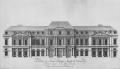1790 Palais de Louis-Philippe-Joseph d'Orléans 1790 rue Saint-Honoré facade by Moreau - Musée Carnavalet 1988 p158.png