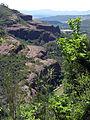 186 Extrem occidental dels cingles de Bertí, vora la vall de Sant Miquel.JPG
