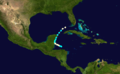 1870 Atlantic hurricane 11 track.png