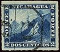 1878ca 2c Nicaragua frame Yv9 Mi9.jpg