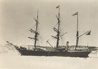 Norwegian whaling ship