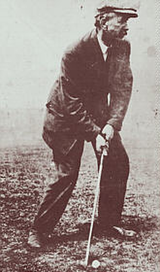 David Brown (golfer) - Image: 1886 Open Champion David Brown