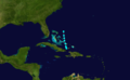 1887 Atlantic tropical storm 12 track.png