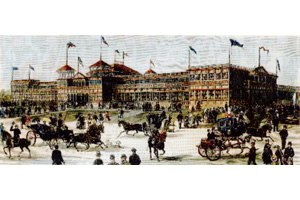 Piedmont Exposition - 1887 Piedmont Exposition Main Building
