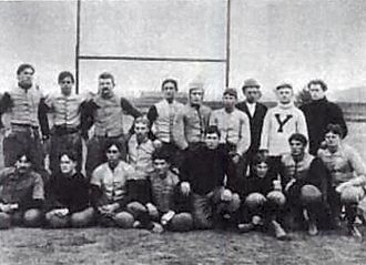 1893 Stanford football team - Image: 1893 Stanford American football team