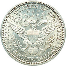 Piece D Un Quart De Dollar Americain Wikipedia