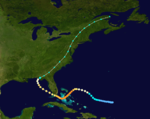 1929 Florida hurricane track.png