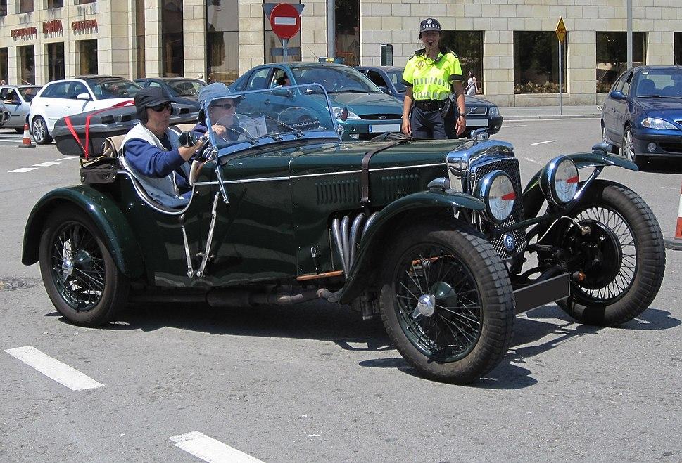 1933 Frazer-Nash Colmore (4739060266) (cropped)