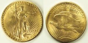 The 1933 Double Eagle, Saint Gaudens' design