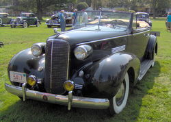 Cadillac Series 70 Convertible Coupe (zweitüriges Cabriolet, 1937)