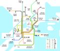 1946 Helsinki tram map.png