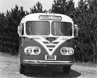 Flxible - 1947 Flxible Clipper highway coach