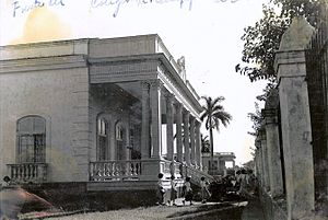 Cárdenas, Cuba - The Madres Escolapias School of Cárdenas, in 1957.