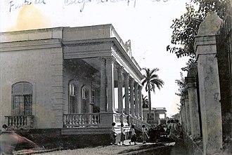 Cárdenas, Cuba - The Madres Escolapias School of Cárdenas, in 1957.