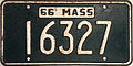 1966 Massachusetts license plate.JPG