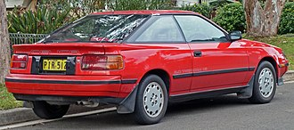 Hatchback - Liftback – The 4th generation Toyota Celica, 2.0 SX (ST162)