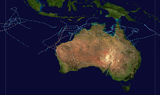 1995–96 Australian region cyclone season cyclone season in the Australian region