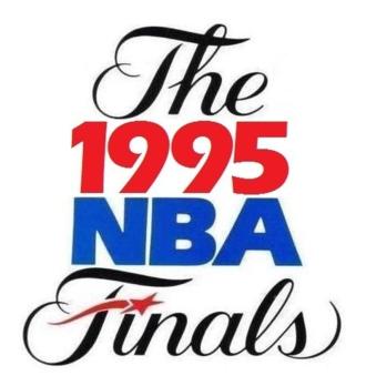 1995 NBA Finals - Image: 1995NBAFinals