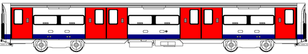 Diagram of a 1995 stock trailer car