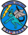 19th Tactical Air Support Squadron - Vietnam War Dragon Patch.png