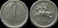1 litas coin (1991).png