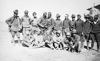 Aviation Section, U.S. Signal Corps - Members of the 1st Aero Squadron in Mexico, 1916