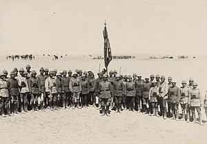 First Battle of Gaza - Image: 1st Gaza Officers 00115v