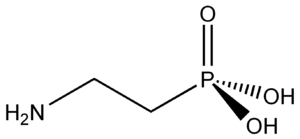Phosphonate - 2-aminoethylphosphonic acid: the first identified natural phosphonate.