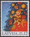 20021123 12sant Latvia Postage Stamp.jpg