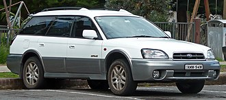 Subaru Legacy (third generation) - 2002–2003 Subaru Outback 2.5 wagon