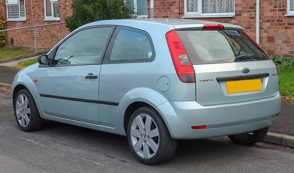 2003 Ford Fiesta Zetec 1.4 Rear