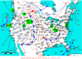 2007-04-19 Surface Weather Map NOAA.png