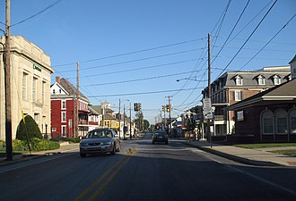 Honey Brook, Pennsylvania - Image: 2007 09 18 Honey Brook US 322 at SR10 a