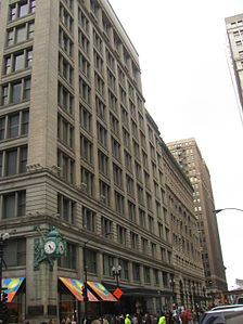 119eeff20e8 The building has three atria including the 5-story balconied Louis Comfort  Tiffany