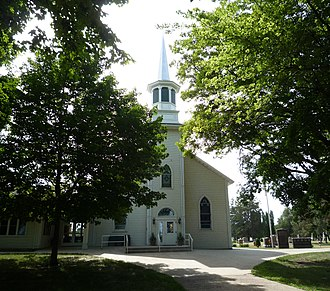 Hancock Township, Carver County, Minnesota - West Union Lutheran Church (1868), in rural Hancock Township, was placed on the National Register of Historic Places because of its important to early Swedish Lutheran settlers in the region.