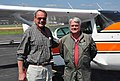 2009. Aerial observer Bill Ciesla (left) and pilot Joe Gallaher with USFS Region 2 Cessna, N126Z. Aerial detection survey of northern Colorado. (37070169601).jpg