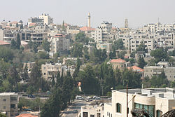 A view of Ramallah