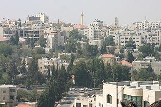 Ramallah - A view of Ramallah