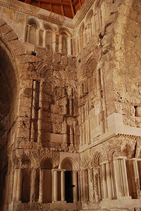 القصر الأموي على جبل القلعة، في عمان