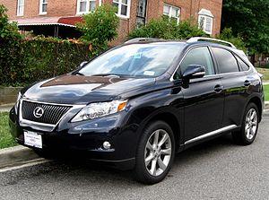 Lexus Rx Википедия