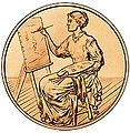 2011 Lucretia Garfield bronze medal reverse.jpg