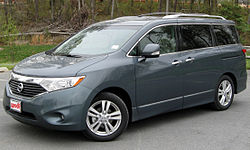 2011 Nissan Quest SL (US)