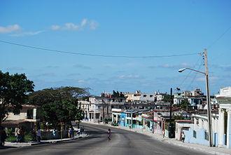 San Miguel del Padrón - A road in San Miguel