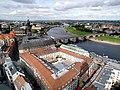20121008125DR Dresden Blick von der Frauenkirche zur Hofkirche.jpg