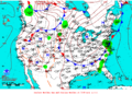 2013-07-12 Surface Weather Map NOAA.png
